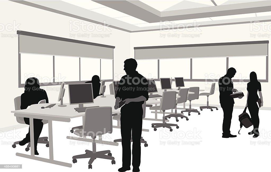 royalty free computer lab clip art vector images illustrations rh istockphoto com