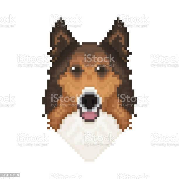 Pixel Art Dog Character Vector Icons Download Free Vectors