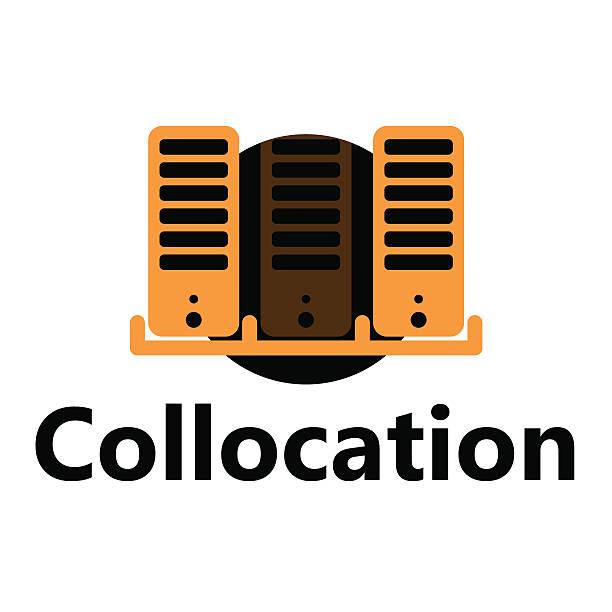 Collocation icon vector art illustration