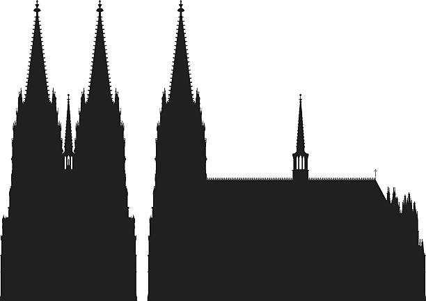 kölner dom - köln stock-grafiken, -clipart, -cartoons und -symbole