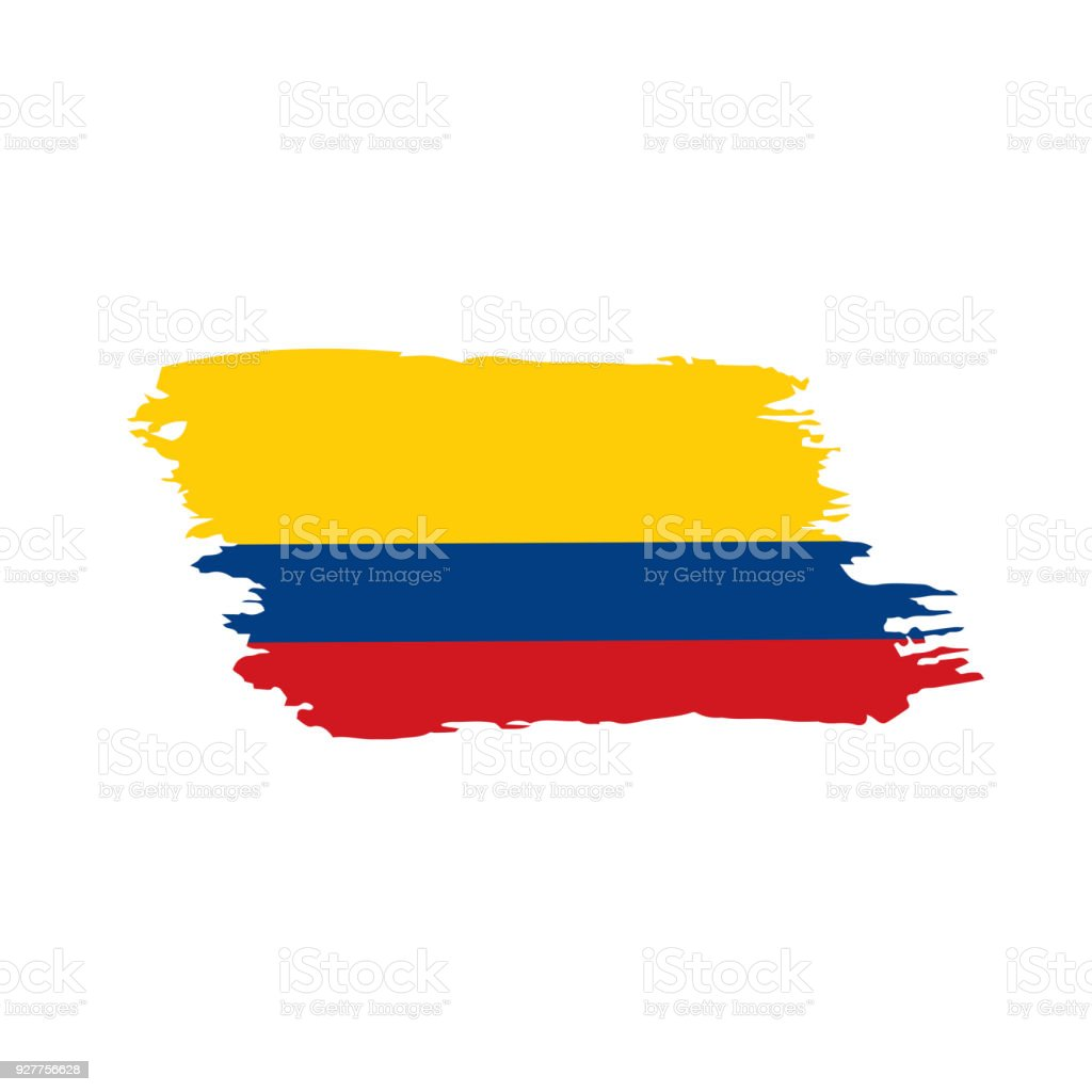colombia flag vector illustration stock vector art more images of rh istockphoto com flag vector icon flag vector graphics