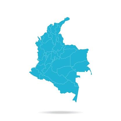 40 - Colombia - Lava Blue Empty q10