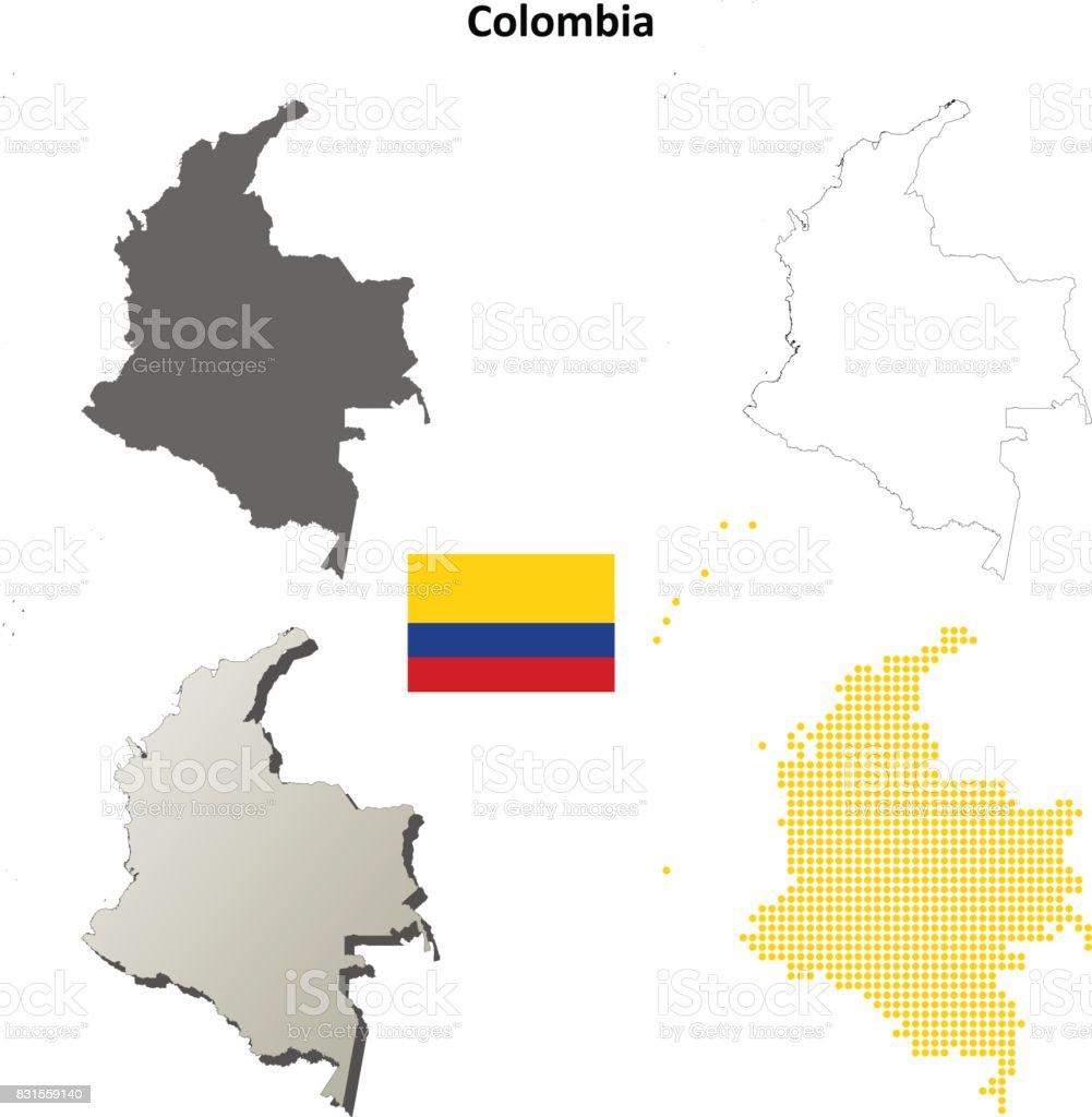 Carte Amerique Du Sud Jeu.Jeu De Carte Pour Le Plan Colombie Vecteurs Libres De Droits