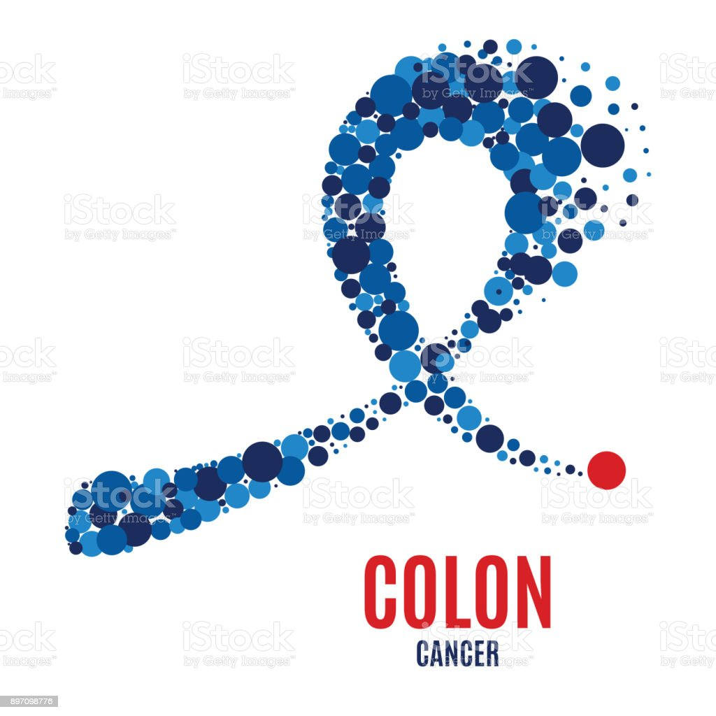 Colon Cancer Awareness Ribbon Stock Illustration Download Image Now Istock
