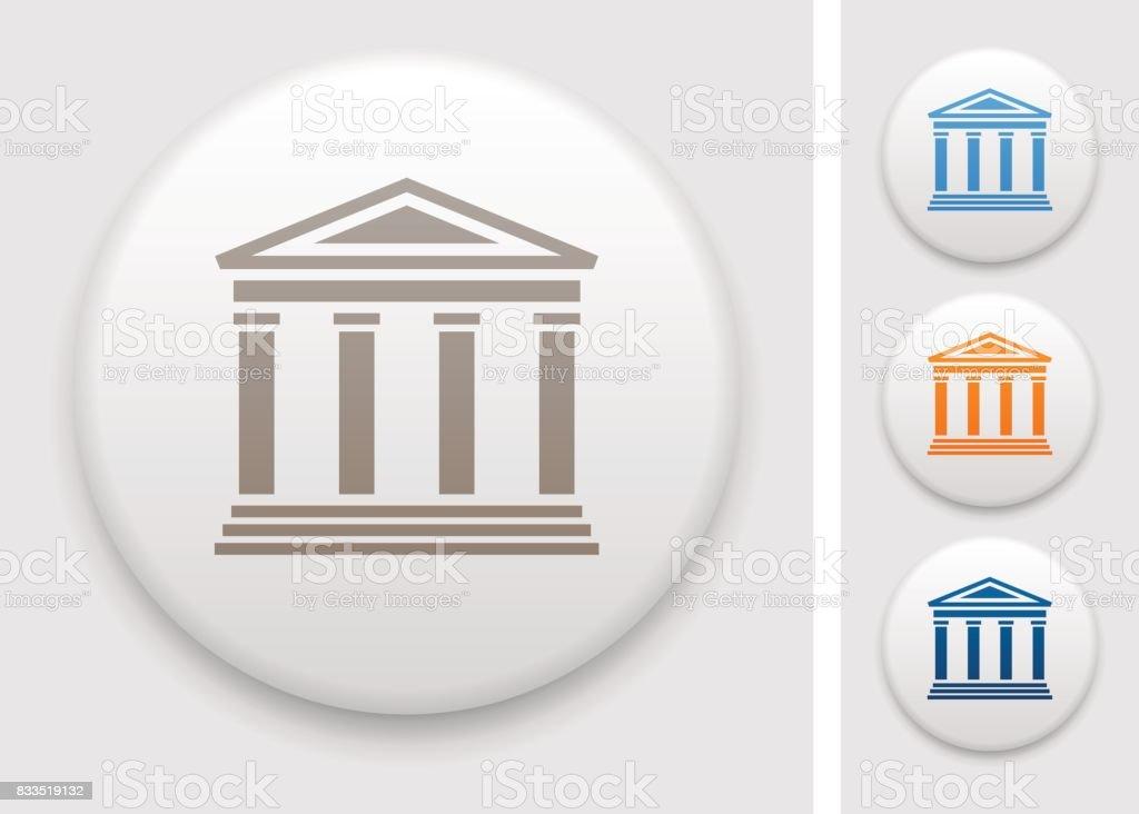 Colonnade icon vector art illustration