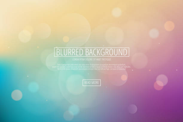 Color Abstract Blurred background vector art illustration
