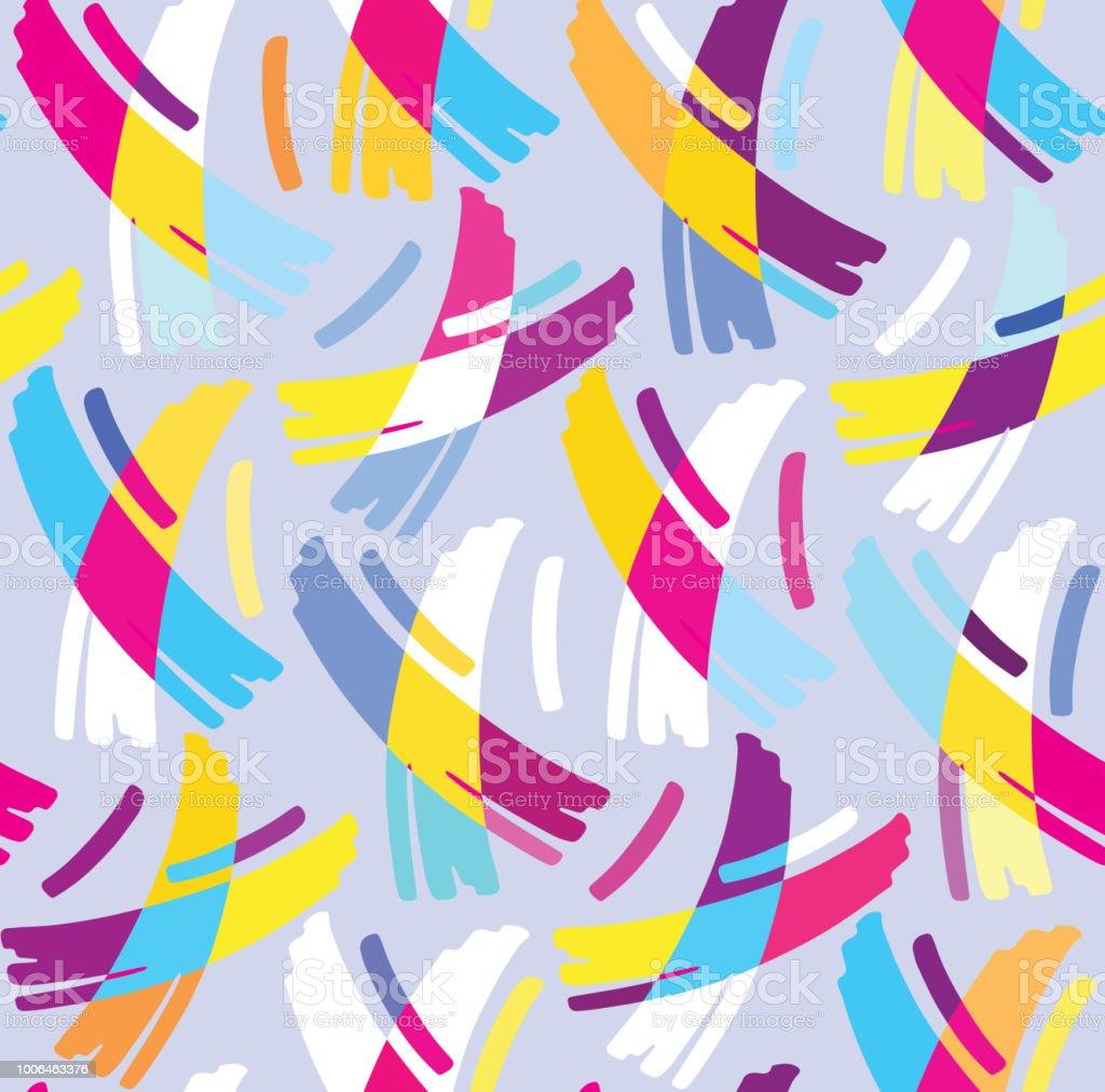 色の抽象的なデザイン パターンの背景壁紙 まぶしいのベクターアート