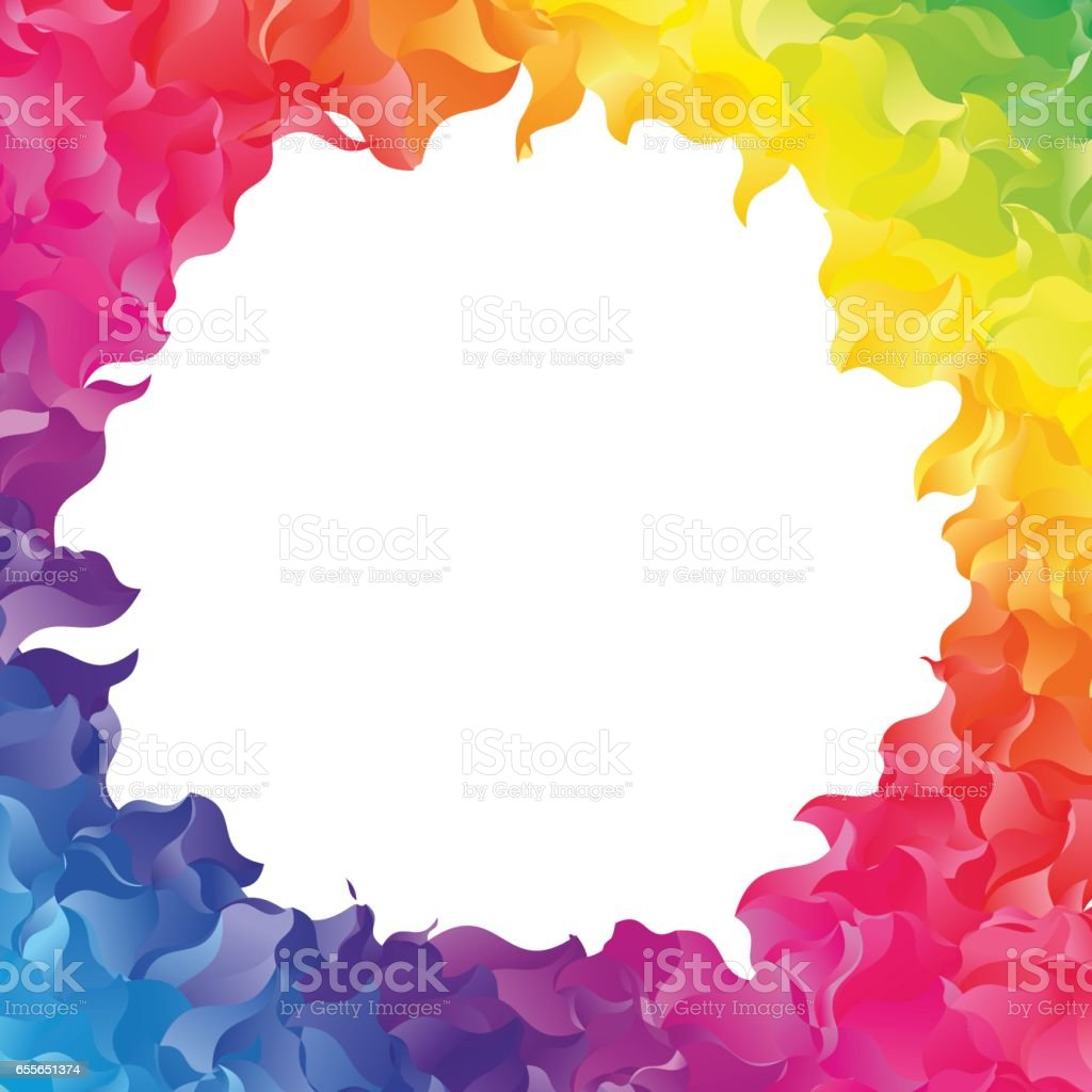 Farbe Abstrakte Rahmen Stock Vektor Art und mehr Bilder von Abstrakt ...