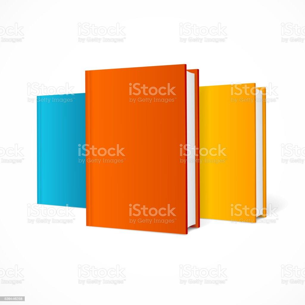 Color Book Set. Vector vector art illustration