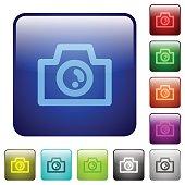 Color camera square buttons