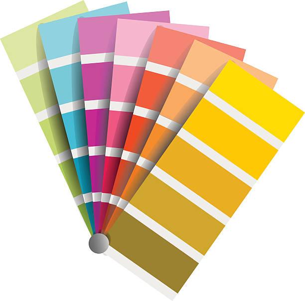ilustrações, clipart, desenhos animados e ícones de gráfico de coloração vetor no fundo branco - amostra de cor