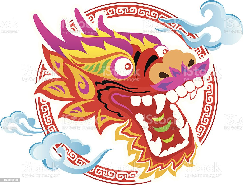 royalty free chinese dragon clip art vector images illustrations rh istockphoto com chinese clip art free chinese clipart free