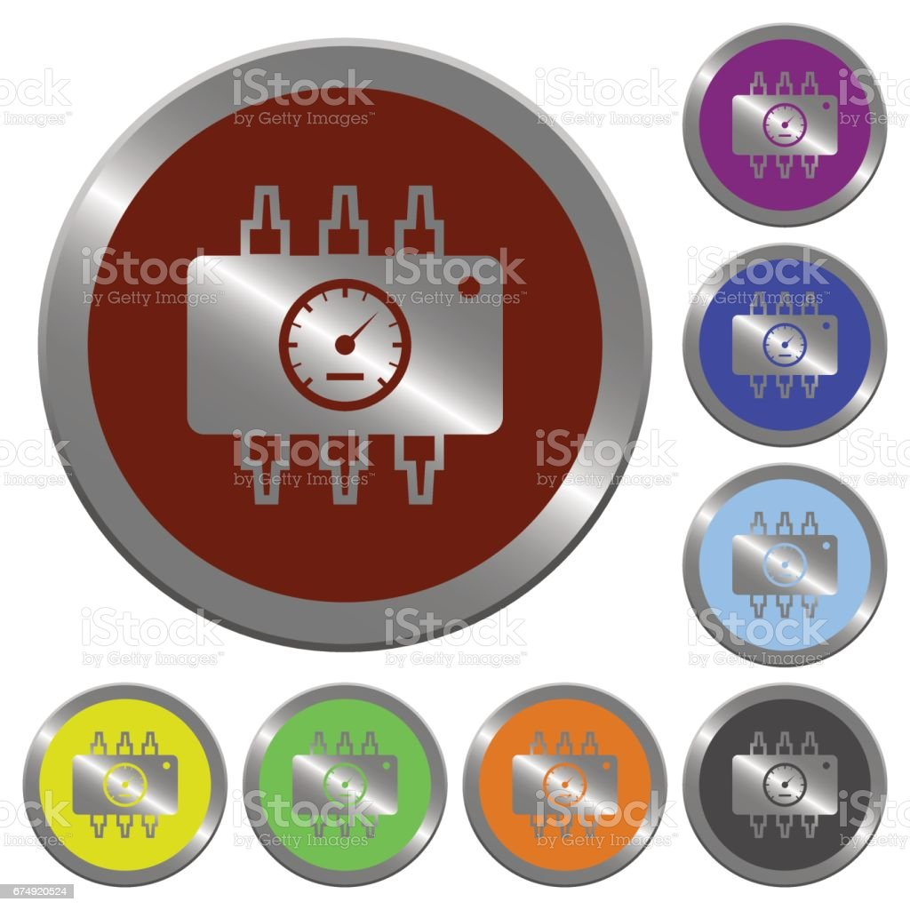 Color chip tuning buttons royalty-free color chip tuning buttons stock vector art & more images of adjusting