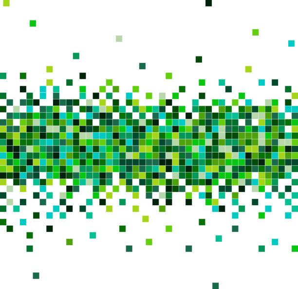 ilustraciones, imágenes clip art, dibujos animados e iconos de stock de fondo que fluye de los datos de color - fondos mosaicos