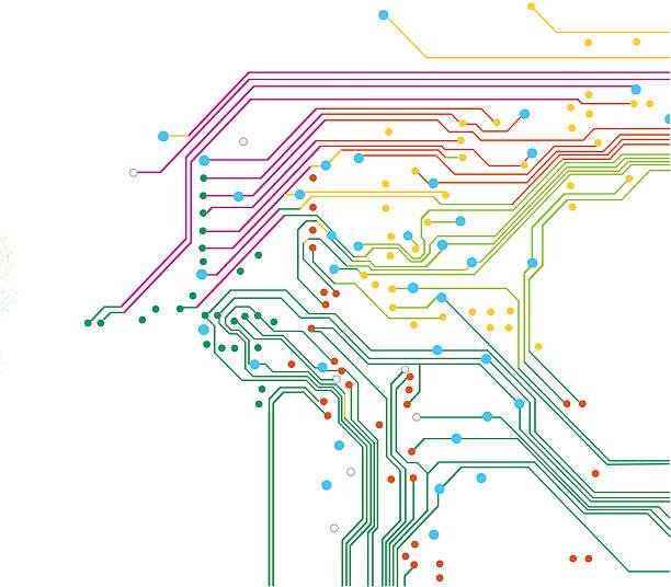 farbe elektrisch hintergrund - farbchips stock-grafiken, -clipart, -cartoons und -symbole