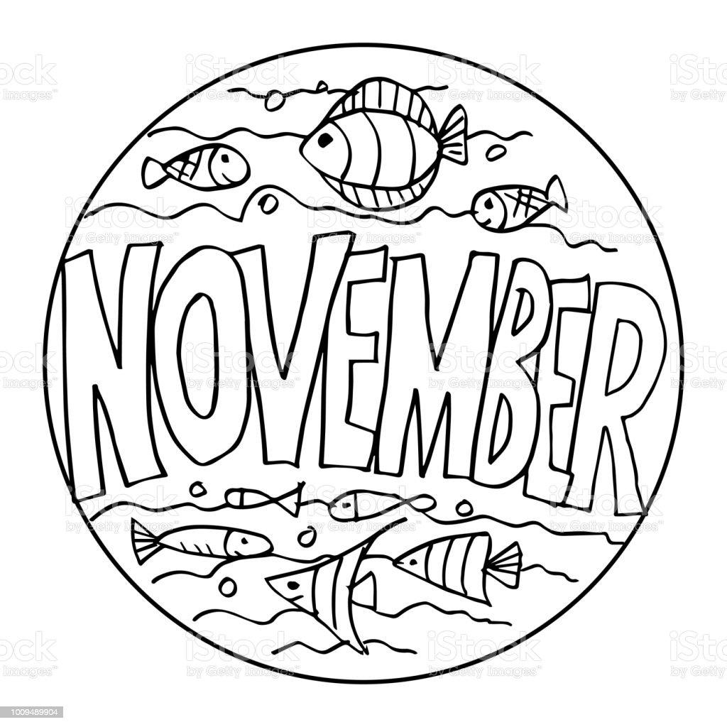 Coloring Pages For Adults November – Pusat Hobi
