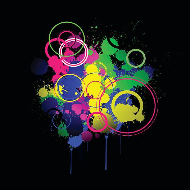 Kolor Eksplozja – artystyczna grafika wektorowa