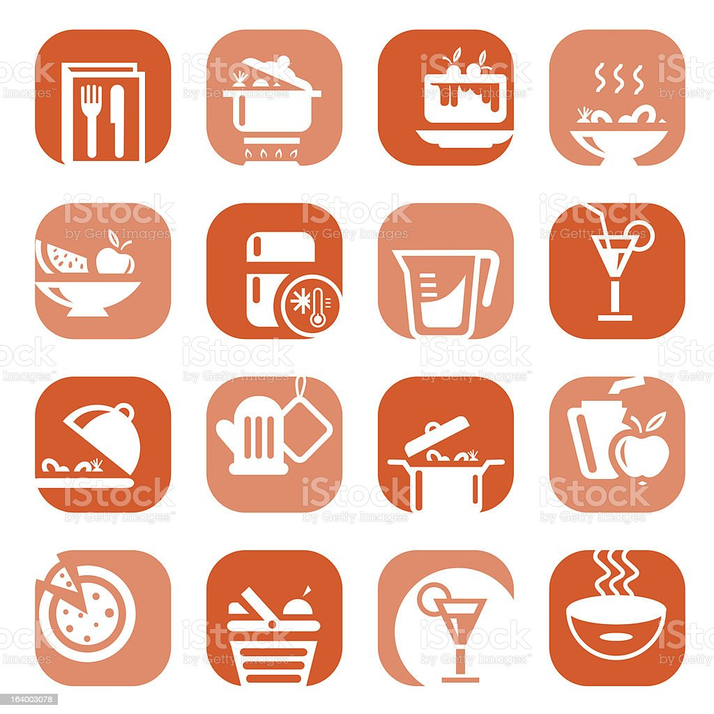 color food type icons royalty-free color food type icons stock vector art & more images of alcohol