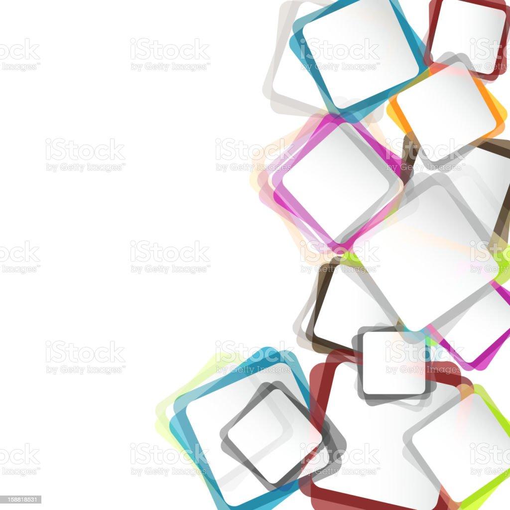 color frame vector art illustration