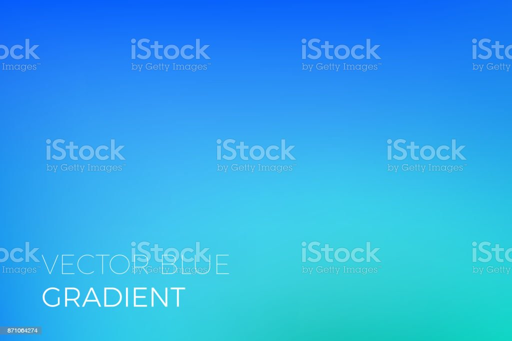 Color gradient background sky blue abstract soft blend trendy vector light effect vector art illustration