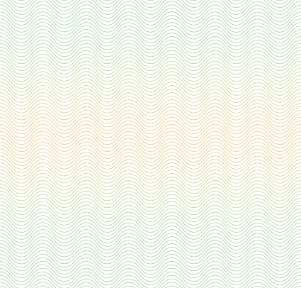 Color Gradient Background With Waves Guilloche The Protective Layer For Stock Illustration - Download Image Now