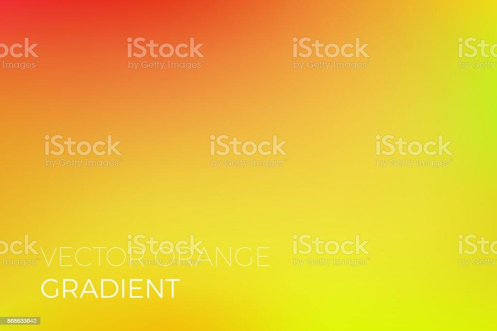 Effet De Lumière Vecteur Fond Dégradé De Jaune Orange Abstrait Doux ...