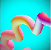 color gradient curve pipe pattern background