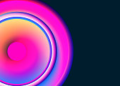 color gradient ring background