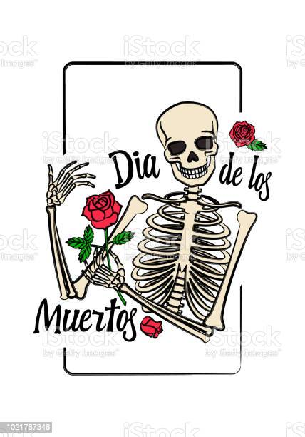 Color graphic of human skeleton with smiling skull holding rose in vector id1021787346?b=1&k=6&m=1021787346&s=612x612&h= wxbe7qjllf2pw ecotaevnyc xhixyatg8hd61apcs=