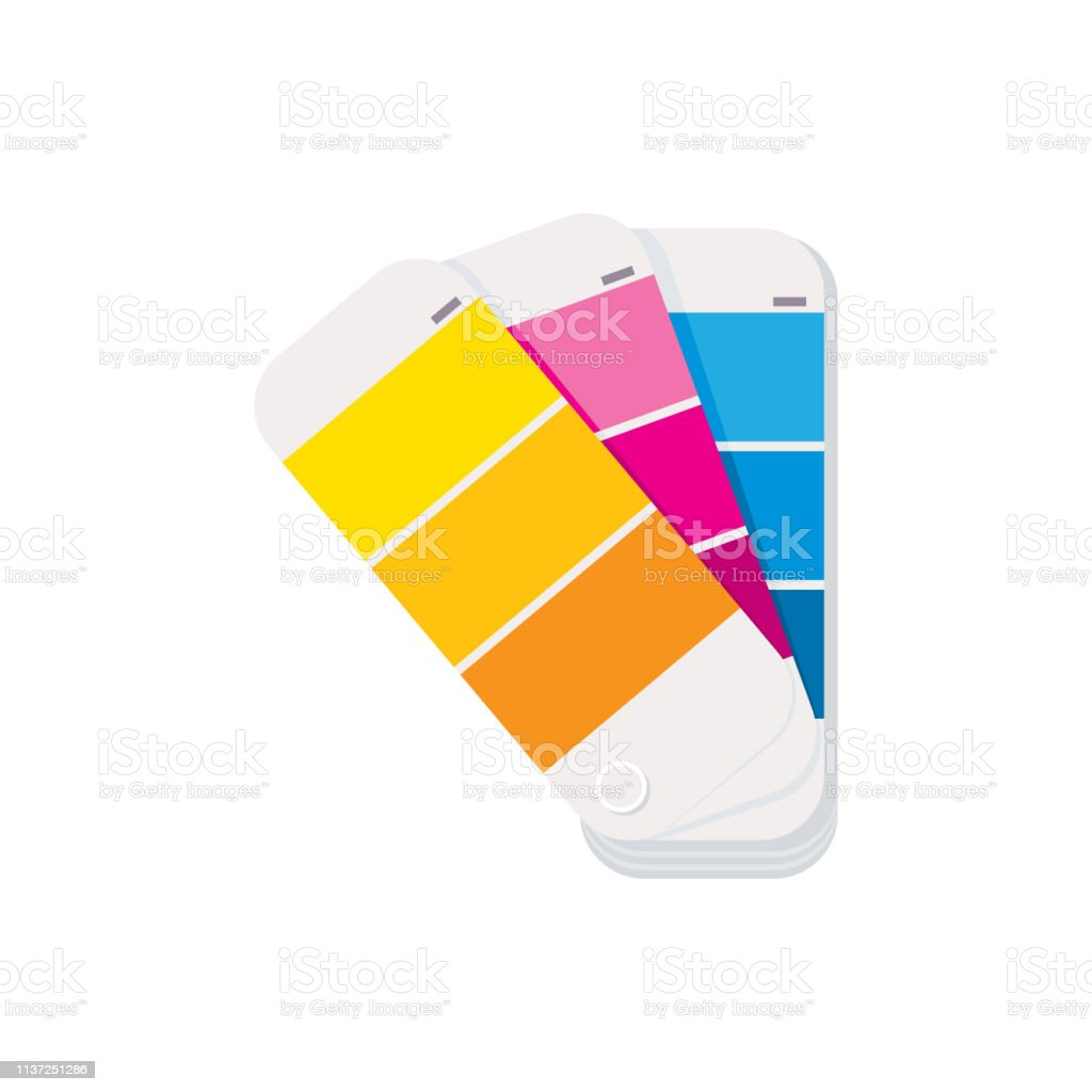 Color Guide. House Painting Icon - Royalty-free Canada stock vector