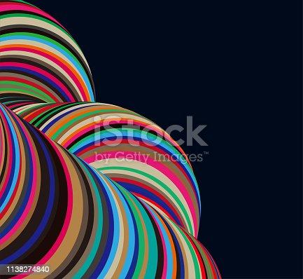 color helix style stripe motion pattern background