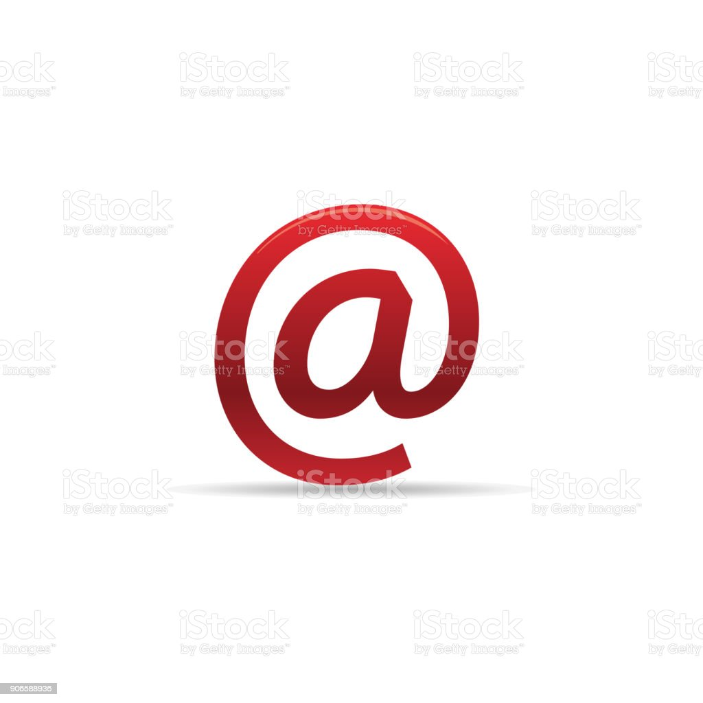 Icône de couleur - Email - Illustration vectorielle