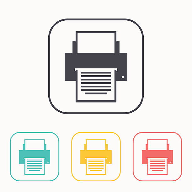 Royalty Free Fax Machine Clip Art, Vector Images -1970