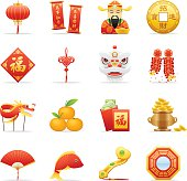 16 Chinese New Year icons