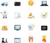 Color Icons - E-Commerce