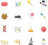 Color Icons - Genetics & Cloning