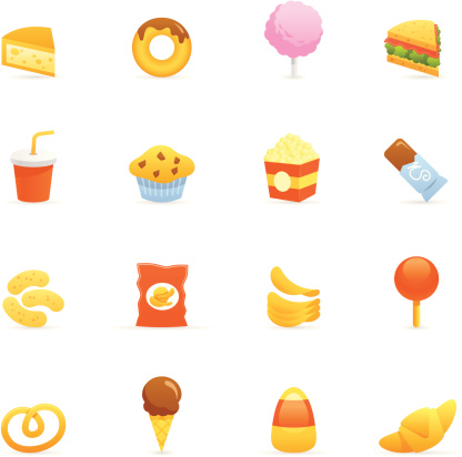 Color Icons - Junk Food