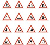 Color Icons - Road Signs