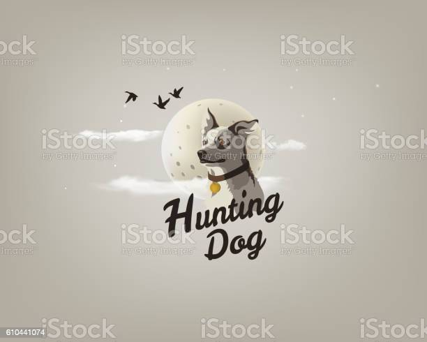 Color illustration of a hunting dog dogs head logo vector id610441074?b=1&k=6&m=610441074&s=612x612&h=jzro8sggscitg1hukrykm5mkk mrbmmu5zntsylvvg4=