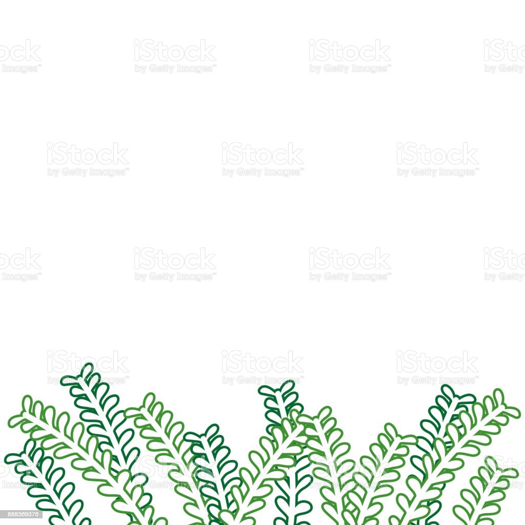 Ilustración de Ramas Naturales De Rústico Línea De Color Con Diseño ...