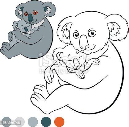 istock Dibujado a mano estilizadas oso koala 532181472 istock ...