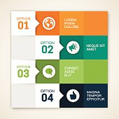 Color Options Design Infographic Template
