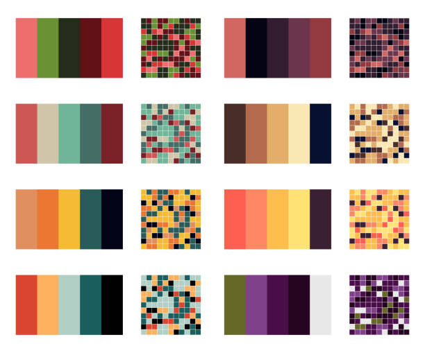 Best Color Palette Illustrations Royalty Free Vector Graphics