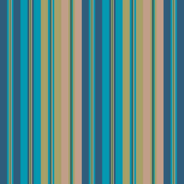 Color pantone fall fashion style seamless stripes pattern. Abstract vector background vector art illustration