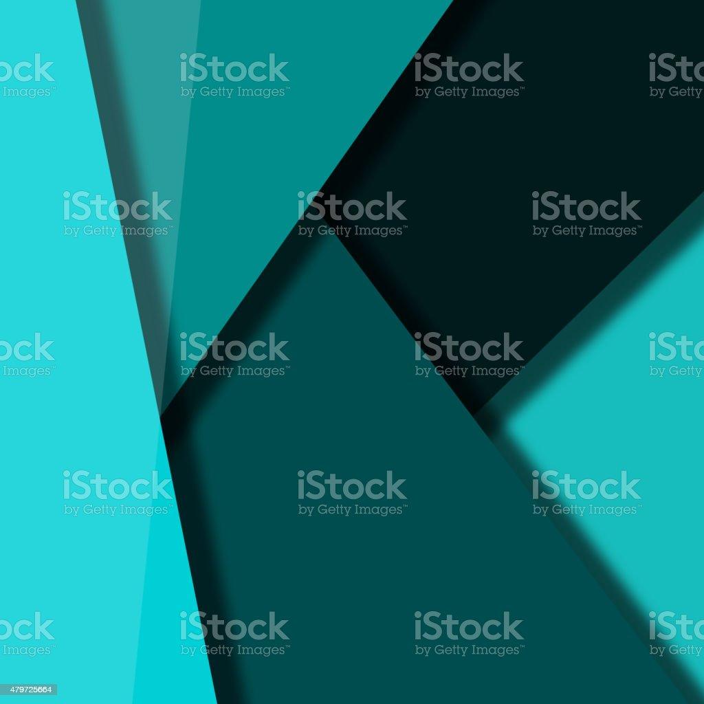 color paper banner background vector art illustration