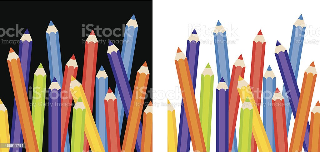 Color Pencils royalty-free color pencils stock vector art & more images of art