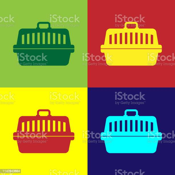 Color pet carry case icon isolated on color backgrounds carrier for vector id1142643864?b=1&k=6&m=1142643864&s=612x612&h=mhivcwkauuv1fofkfzi0wm0scnfnw6f1kga2grfl8t8=