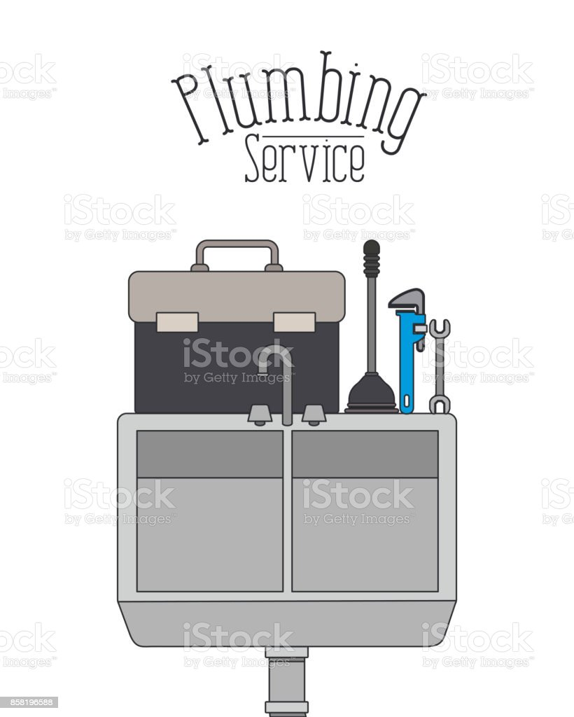 Color Poster Of Dishwasher Plumbing Service Stock Vector Art More Diagram Royalty Free