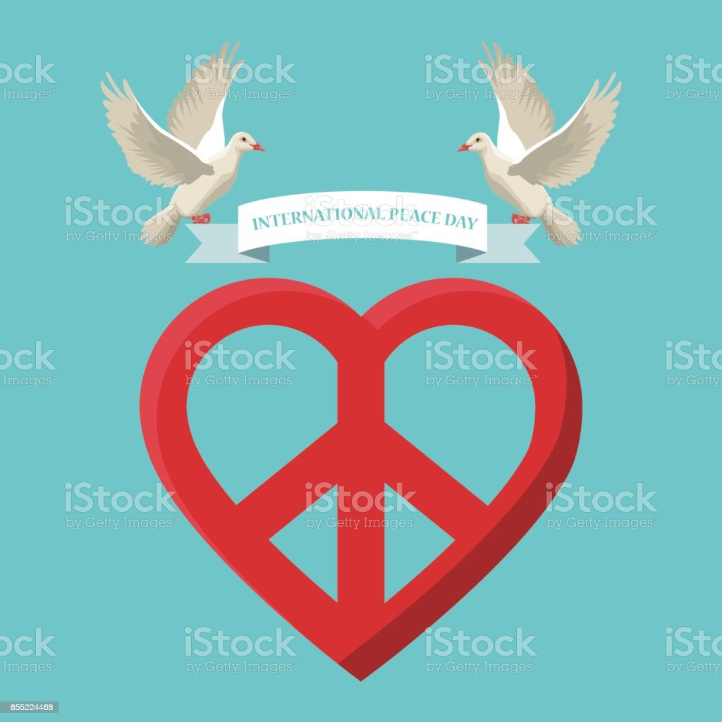 Text symbols peace choice image symbol and sign ideas color poster pair pigeons flying with label international peace color poster pair pigeons flying with label biocorpaavc