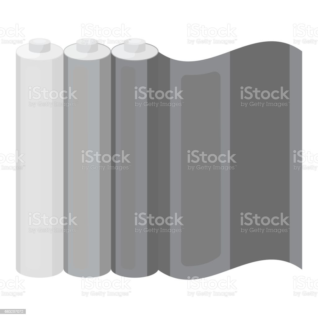 Color printing paper in monochrome style isolated on white background. Typography symbol stock vector illustration. color printing paper in monochrome style isolated on white background typography symbol stock vector illustration - arte vetorial de stock e mais imagens de arte royalty-free